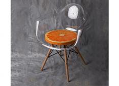 Pagalvėlė kėdei Apelsinas